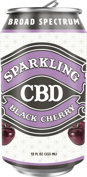 Image of Sparkling CBD – Black Cherry Soda