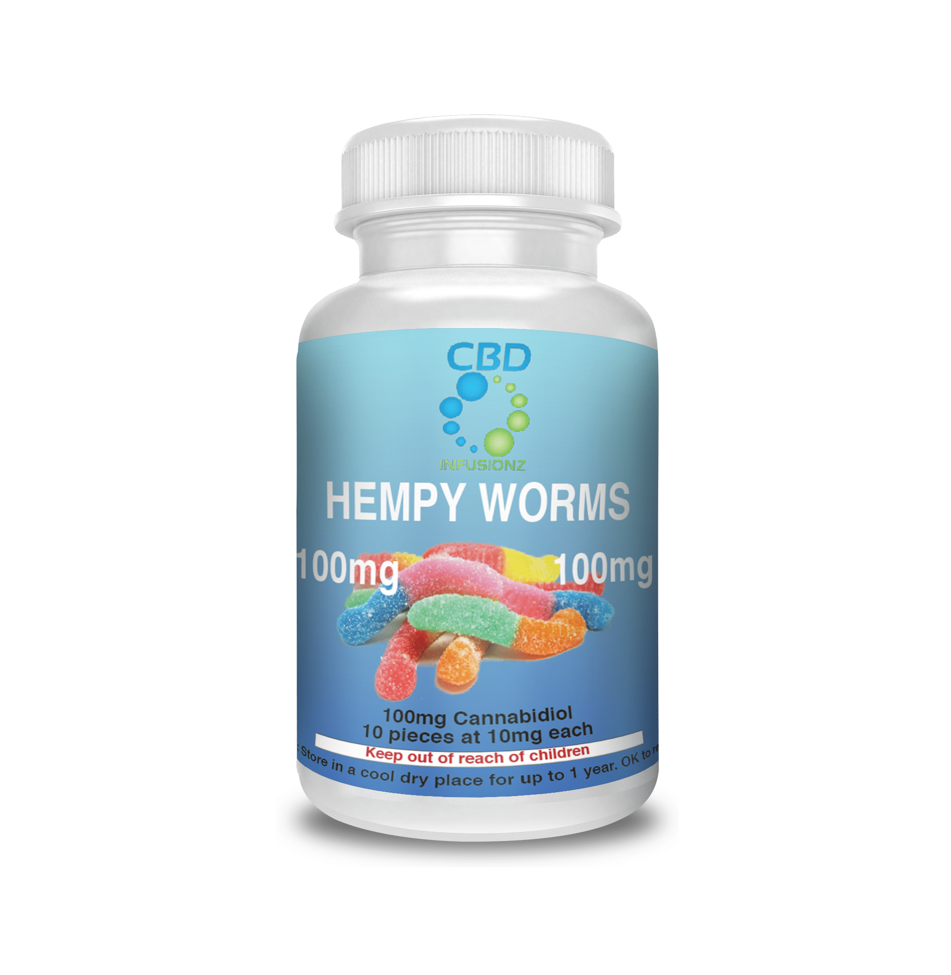 Image of CBD Infusionz – Hempy Worms