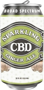 Image of Sparkling CBD  – Ginger Ale Soda