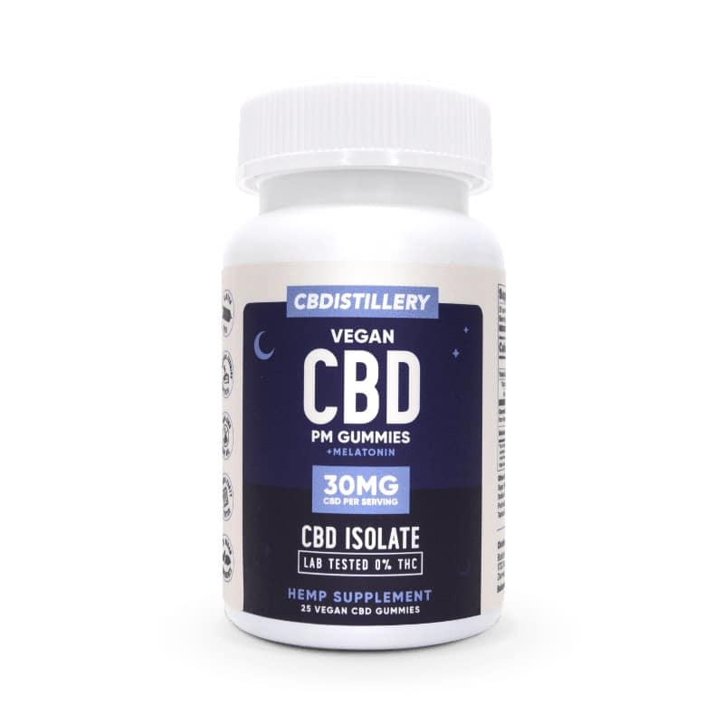 Image of CBDistillery – Isolate PM Gummies