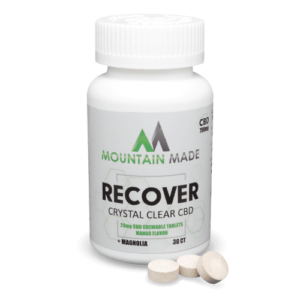 Chewable CBD Tablets - Recovery Mango