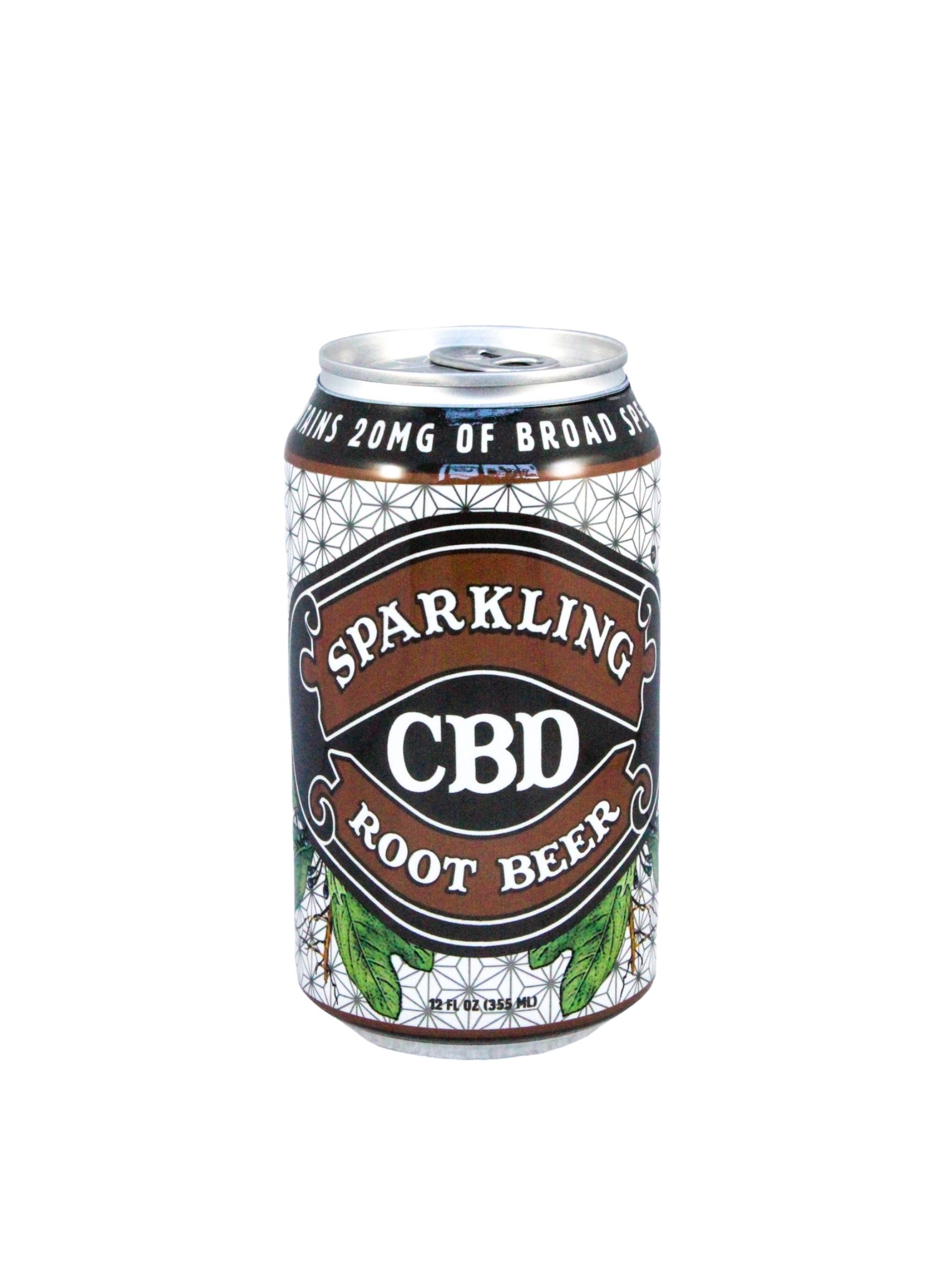 Image of Sparkling CBD – Root Beer Soda