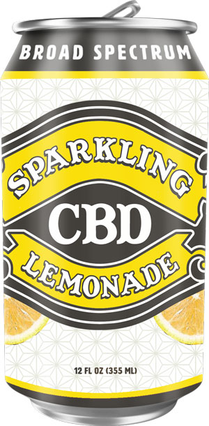 Image for Sparkling CBD - Lemonade