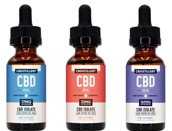 Image of CBDistillery – Isolate Oils