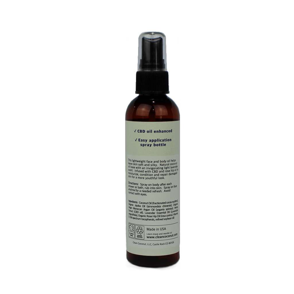 Gallery Image for Clean Coconut - Face and Body Mist