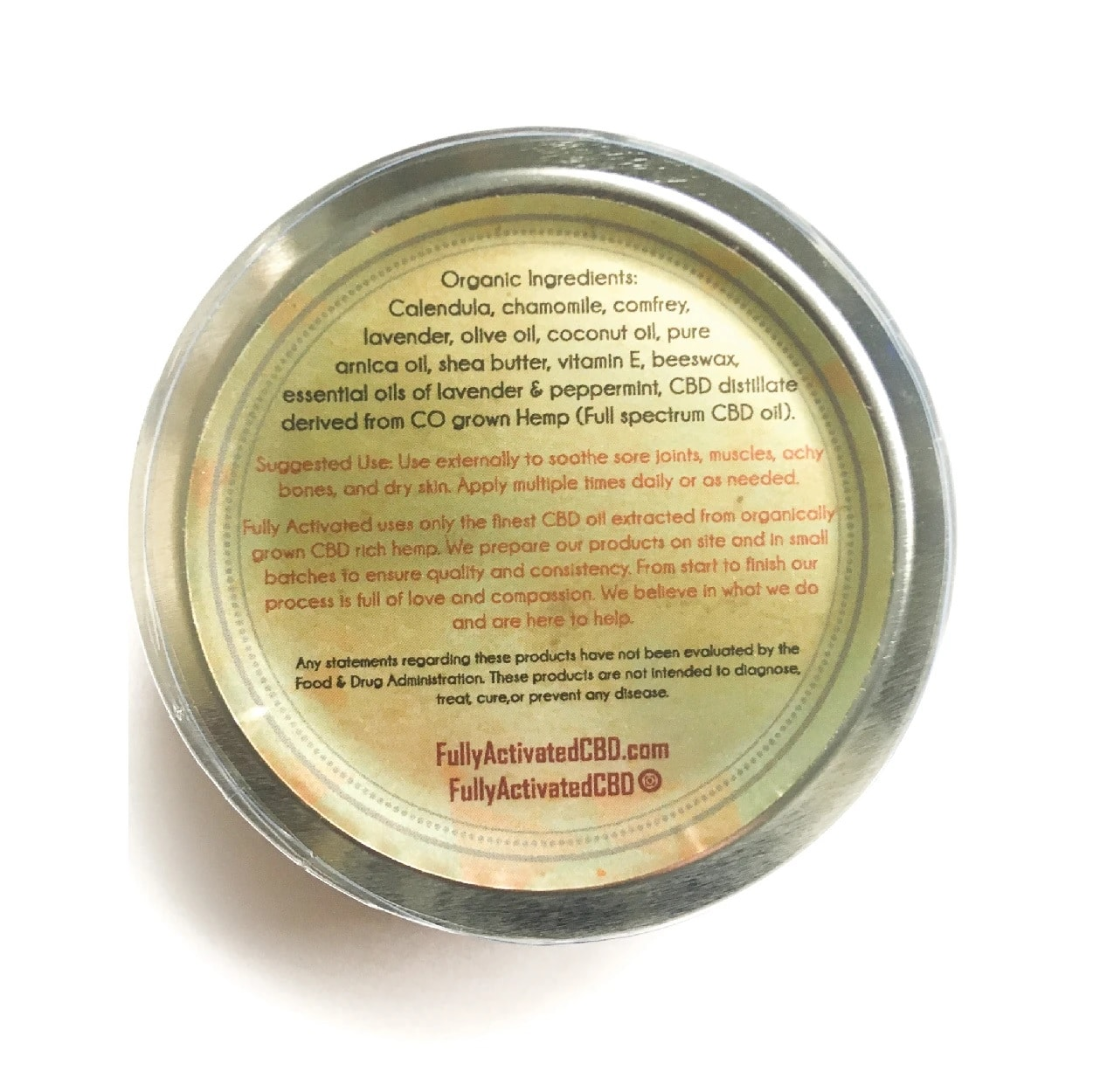 Gallery Image for Fully Activated - Full Spectrum Salve