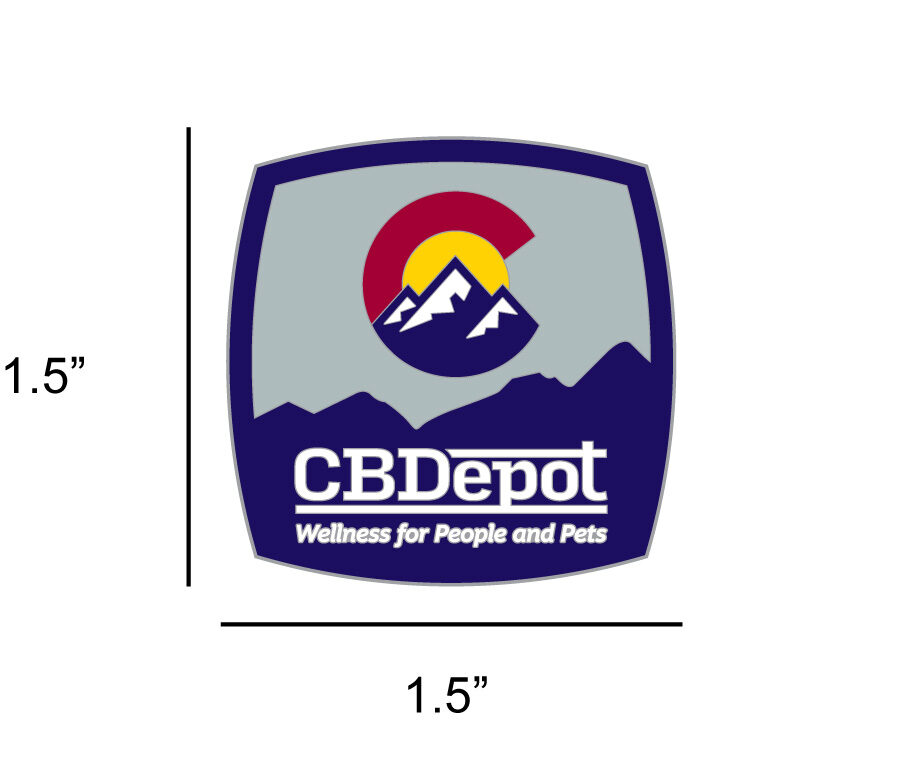 Image of CBDepot – Logo Pin